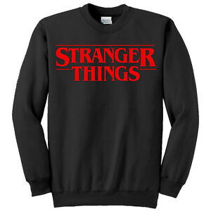 check-out 7162f 1edeb Details about Felpa unisex uomo o donna Stranger Things serie tv inspired