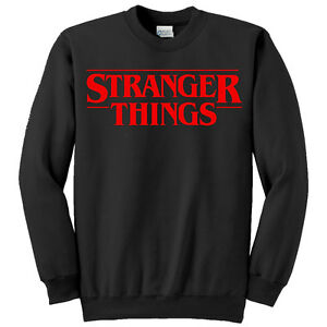 vendita calda a buon mercato aspetto elegante prima qualità Details about Felpa unisex uomo o donna Stranger Things serie tv inspired