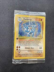 Machamp 8/102 Base Set 1st Edition Promo SEALED 1999 Pokemon