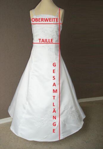 // Kleid Bolero-Jacke 128-140-152-XL Kommunionkleid Taufkleid Bolero neu LUX