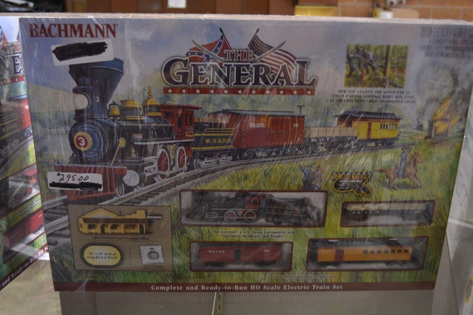 Tren Bachmann 00736 el general HO Set-Nuevo