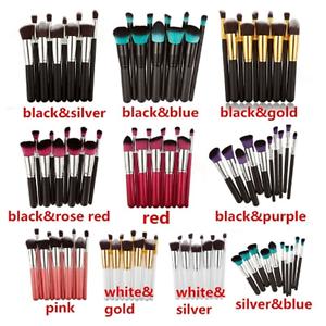 10Pcs-Professional-Kabuki-Foundation-Brushes-Makeup-Brush-Set-Cosmetic-Tool-Kit