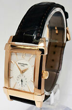 Patek Philippe Mens 5111 Gondolo 18k Rose Gold Watch Box/Papers 5111R
