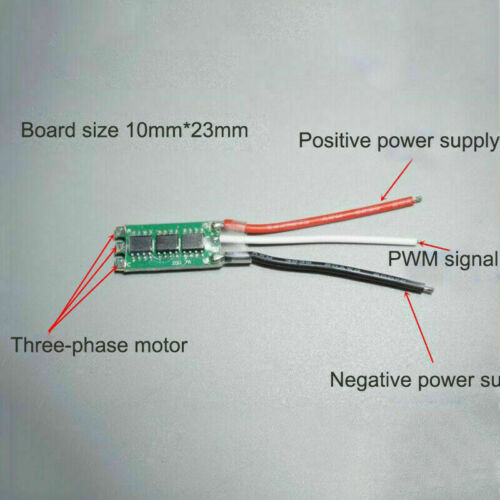 ESC Brushless Motor Electronic Speed Controller 2S 7A RC Drone Airplane Driver