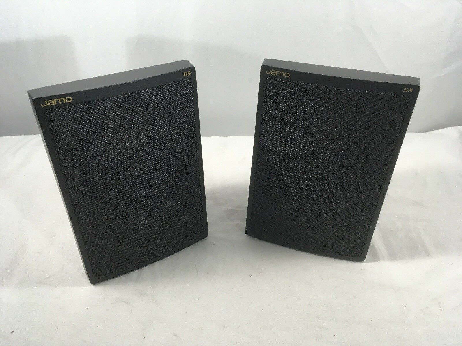 Pair Of JAMO S3  Bookshelf Speakers Tested And Working  Free Shipping