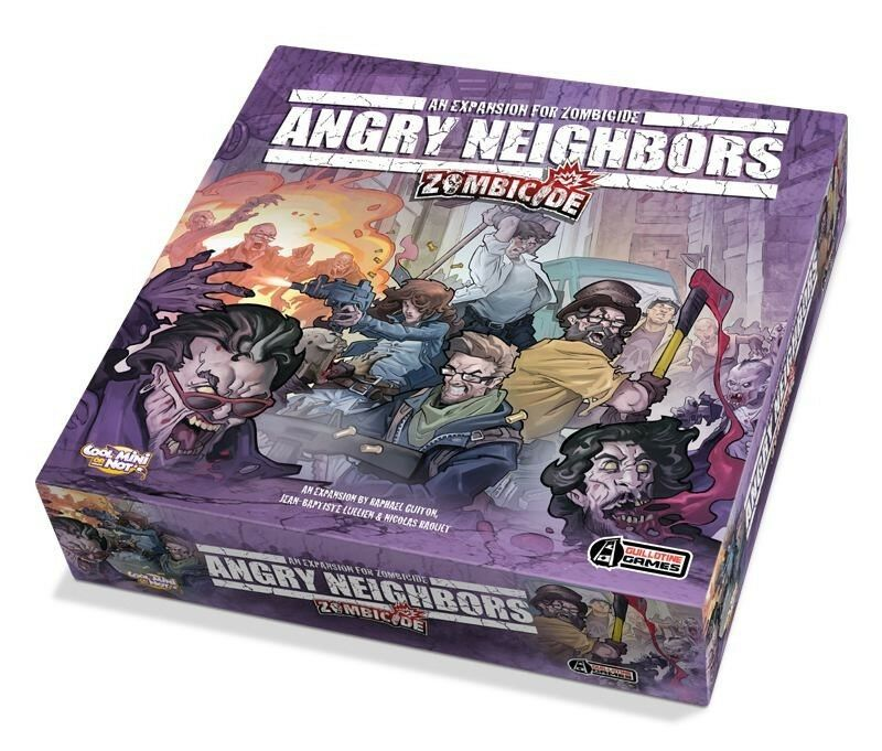 Asmodee - Zombicide Angry Neighbors (German) - Guillotine Games - Zombies