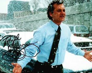 Bill Murray Signed 10x8 Photograph Groundhog Day AFTAL COA (5105)