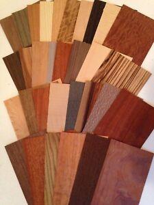 Image Is Loading Wood Veneer Variety Pieces Pack 20 Square Feet