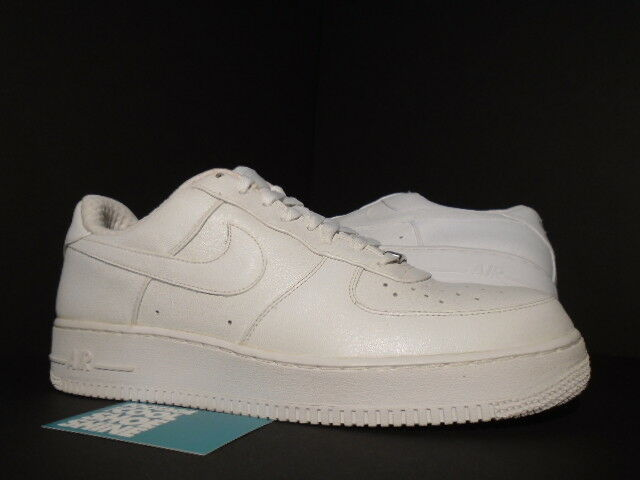 check out 3e01f 038a3 2006 NIKE AIR FORCE 1 PREMIUM  07 LEATHER PEARL blanc 315180-111 NEW 11