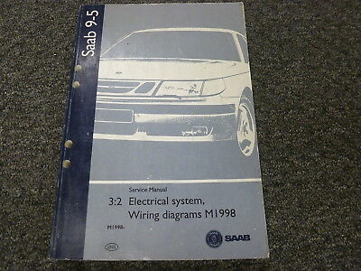 1999 2000 2001 2002 2005 Saab 9-5 Electrical Wiring Diagrams Service Manual  | eBay eBay