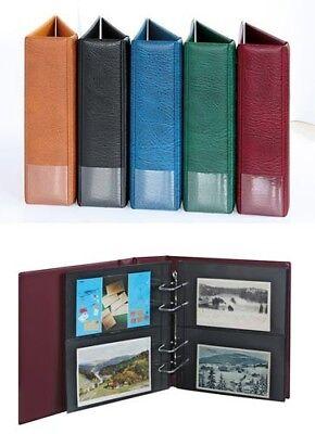 Mutig Lindner 1300pk H Postkarten-album Multi Collect-hellbraun Produkte HeißEr Verkauf Zubehör Briefmarken