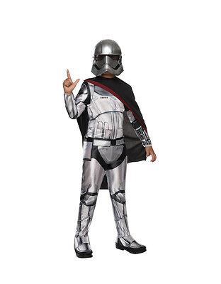 """2019 Nuovo Stile Forza Si Sveglia Bambini Star Wars Capitano Phasma Costume, L, Età 8-10, Altezza 4' 8"""" - 5'-mostra Il Titolo Originale Buoni Compagni Per Bambini E Adulti"""