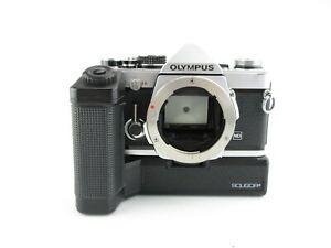 Olympus-OM-2n-SLR-Spiegelreflexkamera-Soligor-OM-1TR-Winder