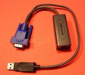 Details about MiniCom Tripp-Lite 1SU51079 1SU51079/R USB Smart 108 116 KVM  IP Switch Module