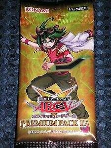 20900 AIR Yugioh Yu-Gi-Oh ARC-V OCG Card KONAMI Gold Pack 2016 10packs BOX