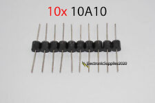 10 Pcs Molded Plastic Case 1000V 10A Rectifier Diodes 10A10 =T BRIC