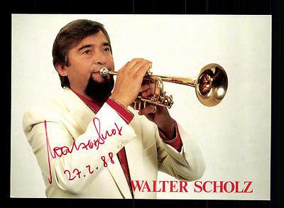 Intelligent Walter Scholz Autogrammkarte Original Signiert ## Bc 68012 Autogramme & Autographen