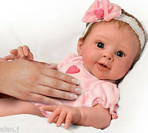 Ashton Drake * Beautiful Dreamer * Breathing Baby Doll ...
