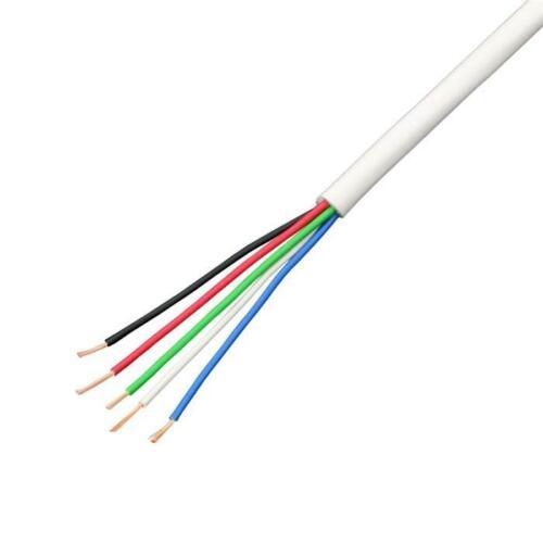 1m RGBW 5x0,34mm² LED Verlängerung Kabel Leitung ; Steuerleitung 5-adrig LiYY