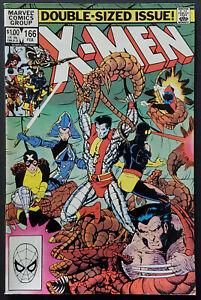 Uncanny-X-Men-166-VF-8-0-Claremont-Smith-1st-Lockhead-1983-Bronze-Age