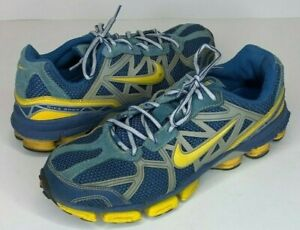 Details about Nike Shox Junga 2006 Mens Size 10 Running Shoes Blue Silver Yellow 313830 471