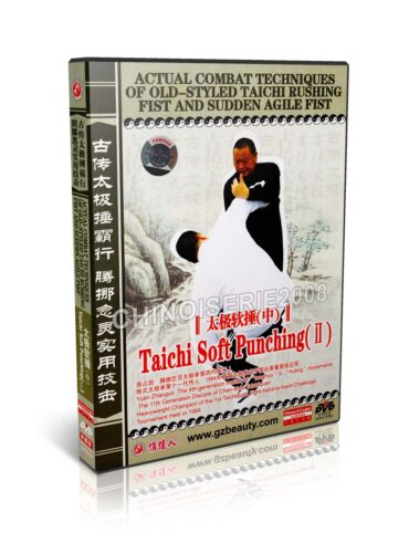 3DVDs Taiji Rushing Fist /& Sudden Agile Fist Taichi Soft Punching I,II,III