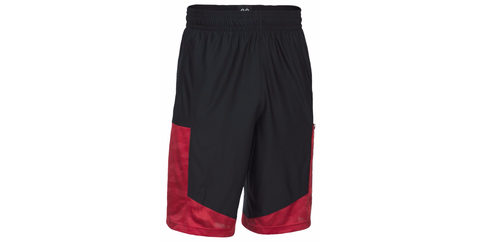 Under Armour Mens SC Supersonic Shorts L, Black//Red