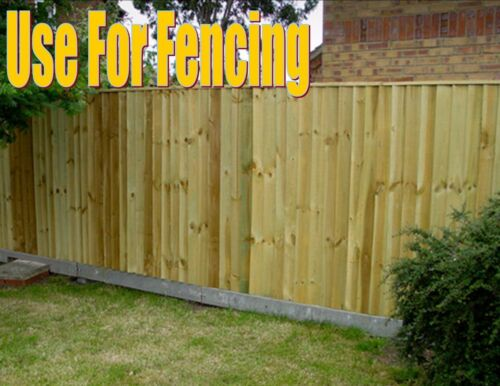 FEATHER EDGE WOODEN BOARDS TREATED FENCING PANELS CLADDING 1.2 METRE LENGTHS