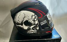 Icon Airframe Death or Glory Motorcycle Helmet Black XS Extra Small