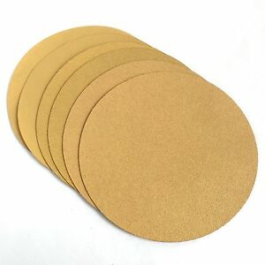 "9"" Drywall Premium AO Sanding Discs, Grip Hook and Loop Backing, 25 pk, 60 Grit"