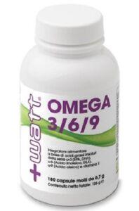 +WATT Omega 3/6/9 180 capsule Acidi grassi essenziali