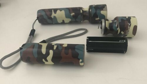 COB Flashlight-Aluminium Look-Tail Button-3AAA-Super Bright Flashlight 4 Colors