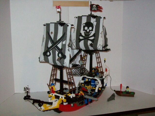 Custom Replacement Cloth Sails Lego 6289 6290 Red Beard Runner Laser Cut!