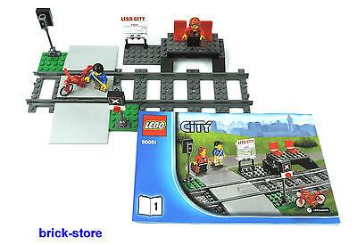 100% Vero Lego ® Ferrovia City Da 60051 Personaggi Stazione Ferroviaria Con Passaggio A Livello E 2 Rotaie-mostra Il Titolo Originale Fissare I Prezzi In Base Alla Qualità Dei Prodotti