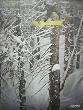 BURTON snowboards 2012 MARK SOLLORS 2 sided promo poster ~NEW & MINT condition~!