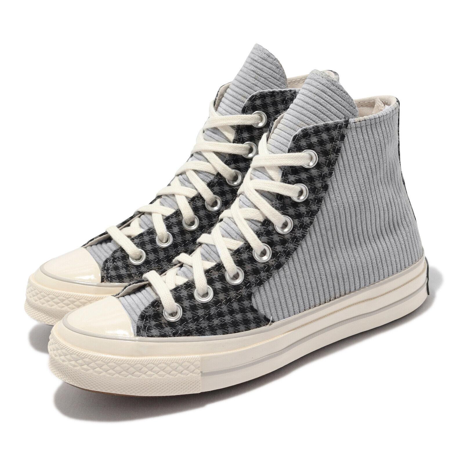 Converse Chuck 70 High Grey Black Men Unisex Casual Lifestyle Shoes 172496C