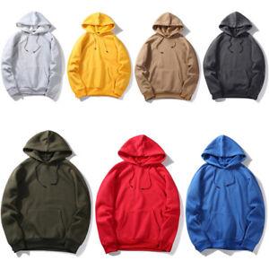 Men-Winter-Casual-Hoodie-Warm-Pullover-Fleece-Sweatshirt-Hooded-Coat-Sweater-Top