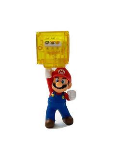 Super-Mario-maquina-tragaperras-Ninos-Juguete-empuje-hacia-abajo-para-rodar-divertido-juego-de