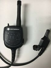 "Motorola RMN5073A Public Safety UHF Radio Mic 24"" FREE SHIPPING"