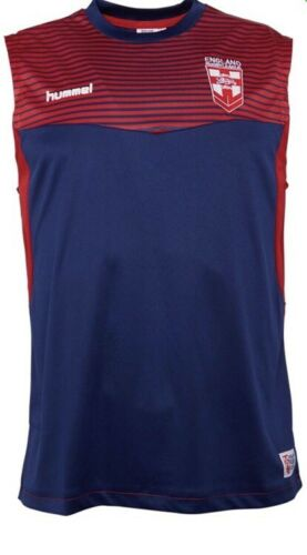 2XL ENGLAND RUGBY LEAGUE TRAINING//GYM VEST New rrp £28