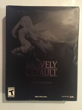 Rare Bravely Default Collector's Edition Nintendo 3DS CIB RPG CD Art AR Cards