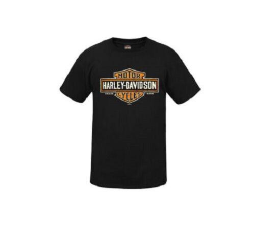 Homme Harley Davidson à capuche concessionnaire PRESTON ENGLAND Noir Biker Sweat à Capuche Sweat