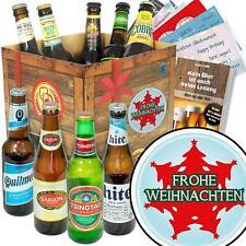 Frohe Weihnachten - Weihnachtsgeschenk Bierflaschen aus aller Welt 9BBWELT-Xbaum