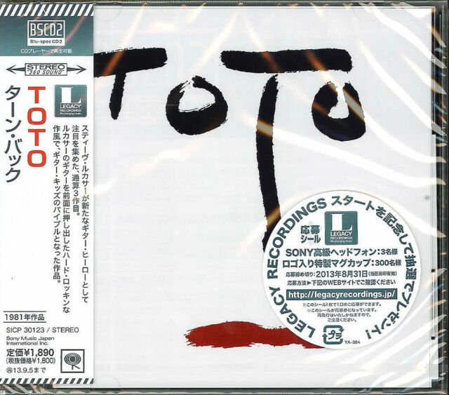 TOTO-TURN BACK-JAPAN BLU-SPEC CD2 D73