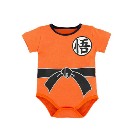 Dragon Ball Z Goku Romper Baby Infant Jumpsuit Overall Children Body Suit Outfit
