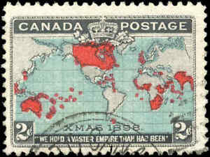 1898-Used-Canada-F-Scott-86b-2c-Imperial-Penny-Stamp