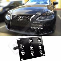 Rev9 For Lexus Is 2013-2015 Front Bumper License Plate Tow Mounting Kit Bracket