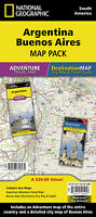 Argentina Adventure Travel Map & Buenos Aires City Map Pack National Geographic