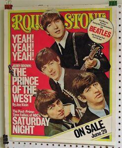 The Beatles-ORIGINAL 1976 US 23 x 19 Rolling Stone