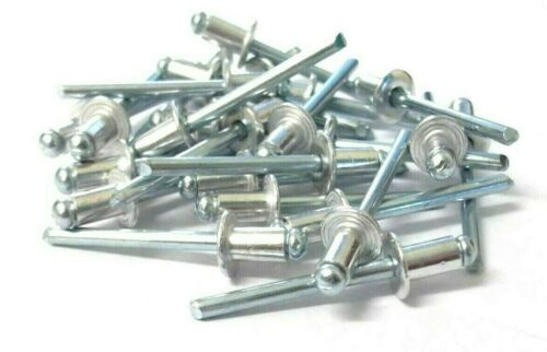 Pack of 25 Aluminium pop rivets *Top Quality! 4.8 x 10mm Blind rivets